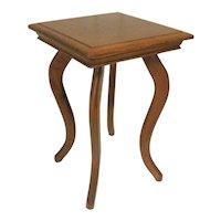 Oak Salesman Sample Lamp Table / Plantstand