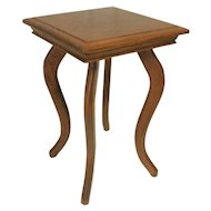 Oak Salesman Sample Lamp Table / Plantstand