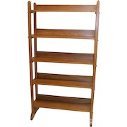 Oak Display Rack by National Biscuit Company