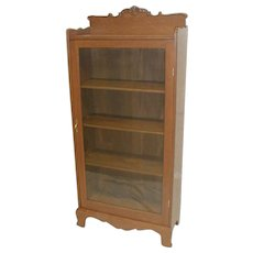 19th Century American Bookcase with One Door