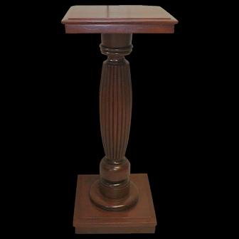 Cherry Victorian Era Pedestal Plant Stand