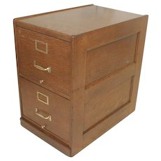 Oak 2 Drawer Legal Size File Cabinet by Macy