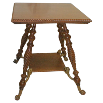 Hunzinger Parlor Table / Lamp Table