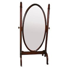 Mahogany Cheval Dressing Mirror Circa 1915