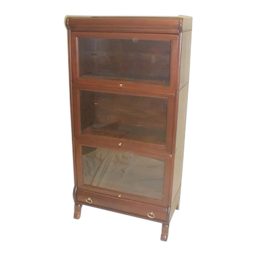 Mahogany Sectional Bookcase 3/4 Size Lundstrom 1905