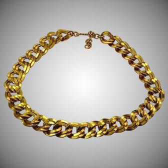 Vintage Monet collar necklace
