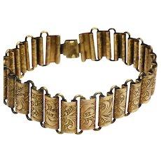 Victorian pinch beck bracelet