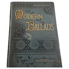 Royal addition Modern Ballads sheet music book, Boosey & Co.