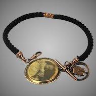 Antique Victorian pocket watch chain