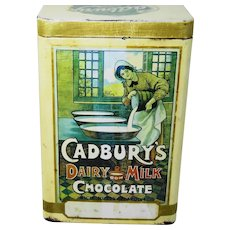 Cadbury's 1940 chocolate tin