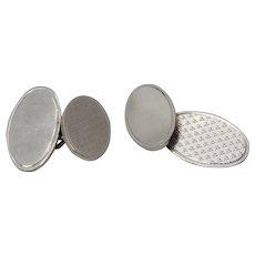 Antique Sterling Silver Cufflinks