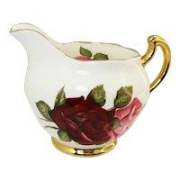 Royal imperial bonechina creamer and sugar bowl