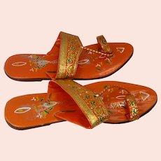 1960s handmade vintage Turkish sandals