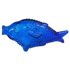 Murano art glass 1970s fish