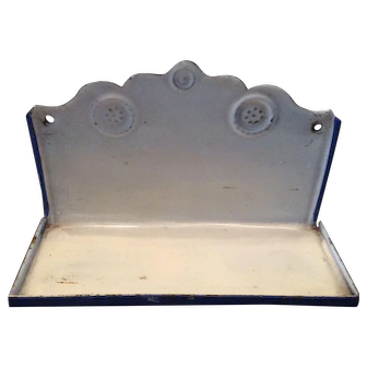 Dollhouse Enamel Shelf