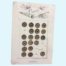 Carded Paris Buttons