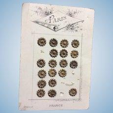 Carded Paris Buttons