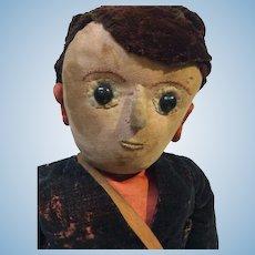 Early Cloth Boy Doll
