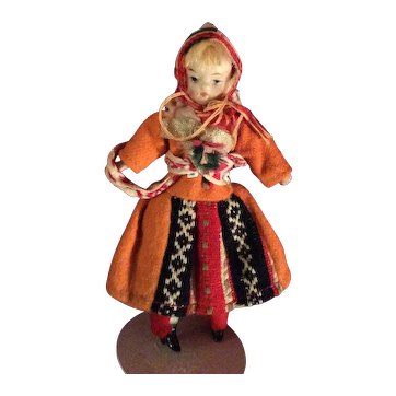 "4"" Ethnic Doll"