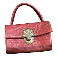 Doll' s Leather Purse