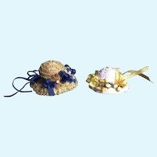 Miniature Artist Bonnets