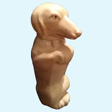 Celluloid Dog Rattle