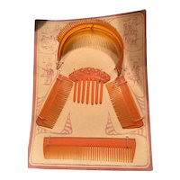 Doll's Celluloid Hair Accessories