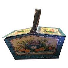 Penny Toy Tin Litho Basket