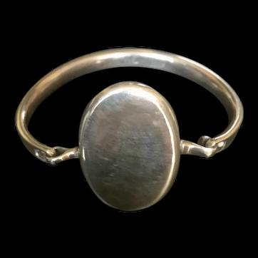 Iconic Vivianna Torun for Georg Jensen silver bracelet