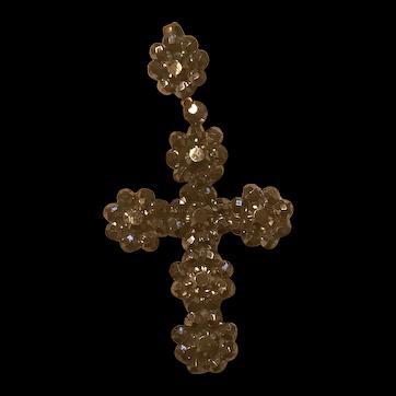 Georgian steel cut cross