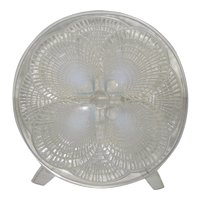 """Rene Lalique """"Coquilles"""" Glass Plate"""