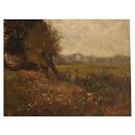 Landscape Oil Painting by Alfred de Breanski Snr