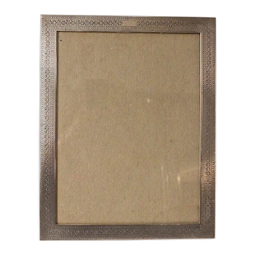 Vintage Tiffany Sterling Silver Picture Frame 1930's