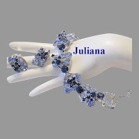 JULIANA Heavenly Color RHINESTONES Dynamic Bracelet & Earrings