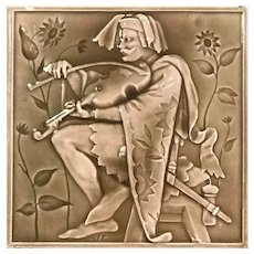 Minton China Works Tile by E. Hammond