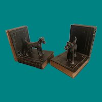 Ronson Terrier Bookends