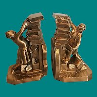 """ Hold those Books "" PM Craftsman Bookends"