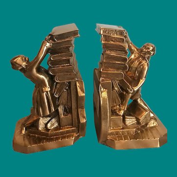 """"""" Hold those Books """" PM Craftsman Bookends"""