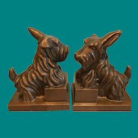 Ronson Bookends Terrier's ya