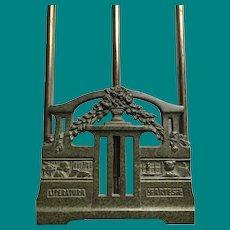 Brass Book Rack , Arts & Literature