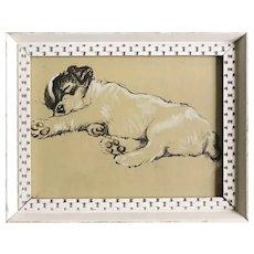 Lucy Dawson puppy print