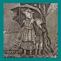 English Transfer Tile Wedgwood May