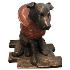 Regal Dog Bookend