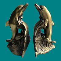 Dolphin Bookends