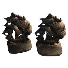 Galleon Bookends