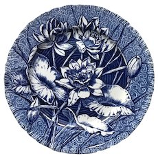 Wedgwood Plate Water Lily pattern