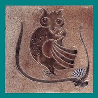 Owl Decorative Tile