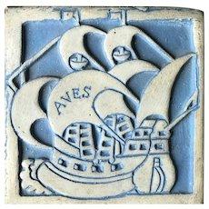 Mercer Tile by Moravian Tile. Works, Doylestown, PA