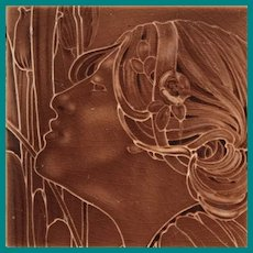 Art Nouveau Lady's head