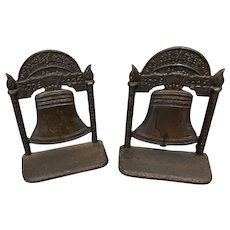 Liberty Bell Bookends